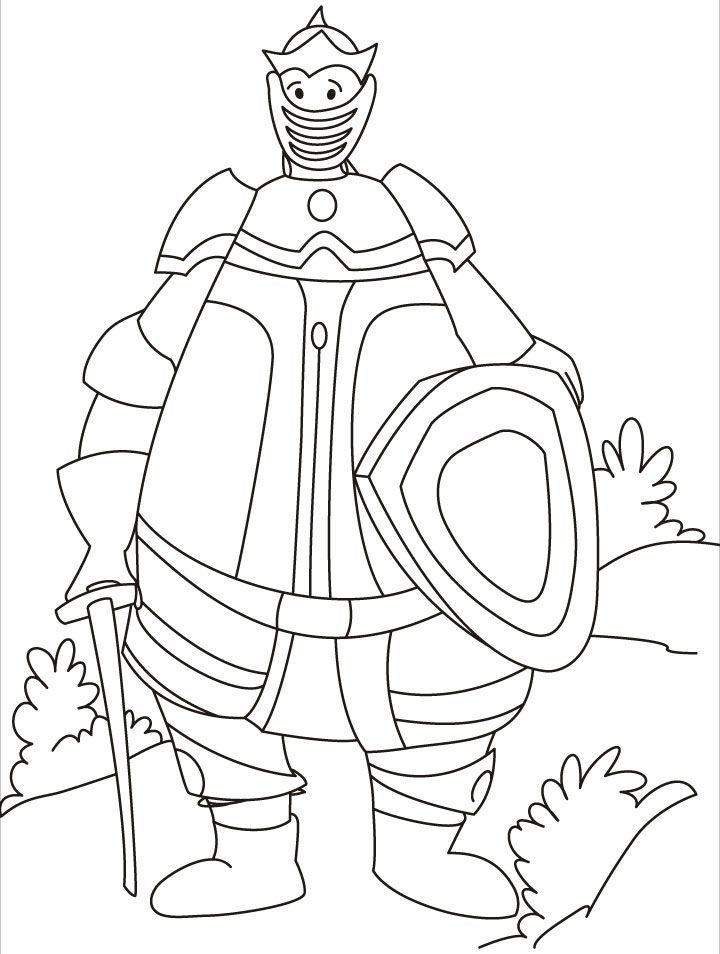 Medieval Times Coloring Pages - Coloring Home