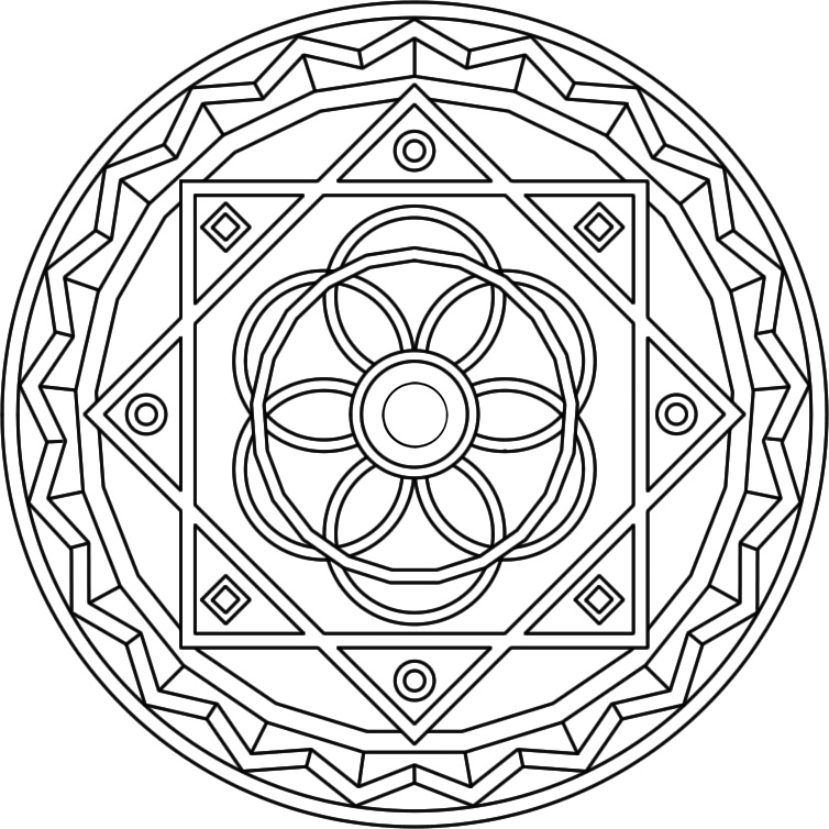 Mandala Coloring Pages Advanced Level Az Coloring Pages Mandala Coloring Pages Advanced Level Printable