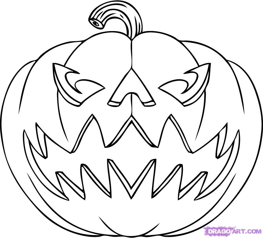 Jack O Lantern Drawings Az Coloring Pages O Lanterns Coloring Pages