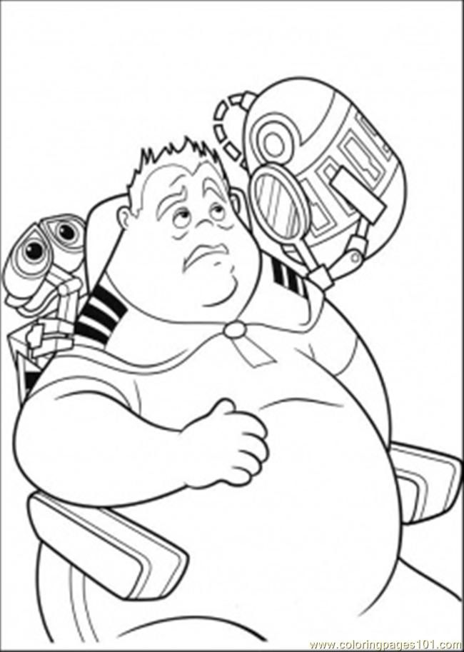 Wall E And Eve Coloring Pages Coloring Home