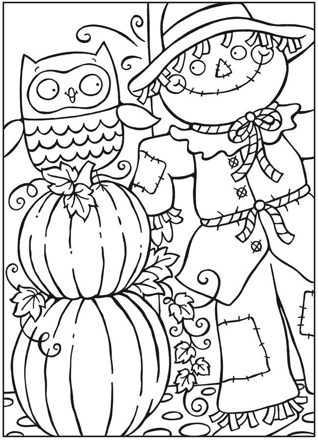 School Library Coloring Pages