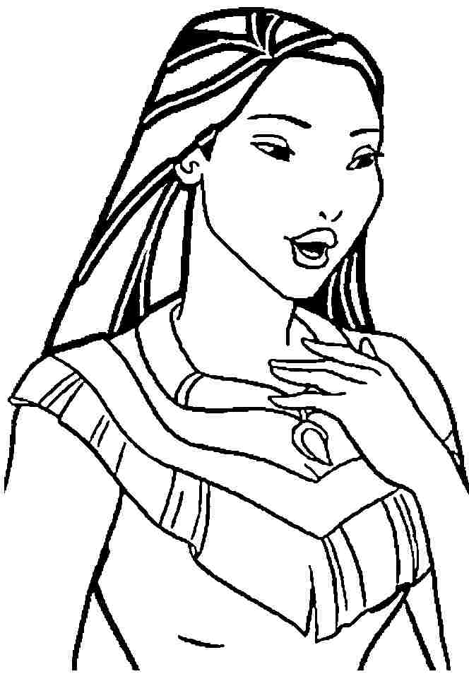 Disney Pocahontas Coloring Pages - Coloring Home