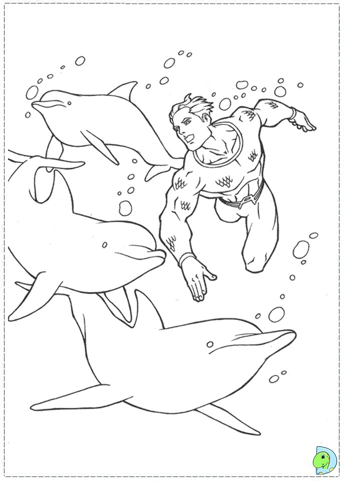 Aquaman coloring pages az coloring pages for Aquaman coloring pages