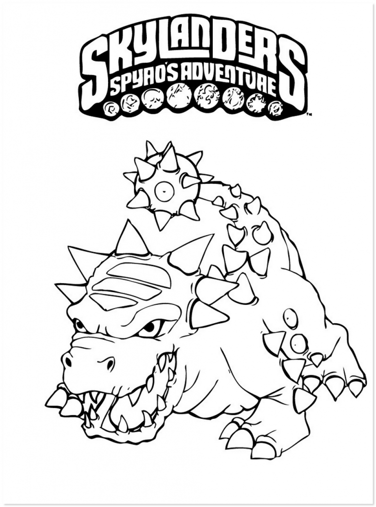 Spyro coloring pages az coloring pages for Spyro the dragon coloring pages