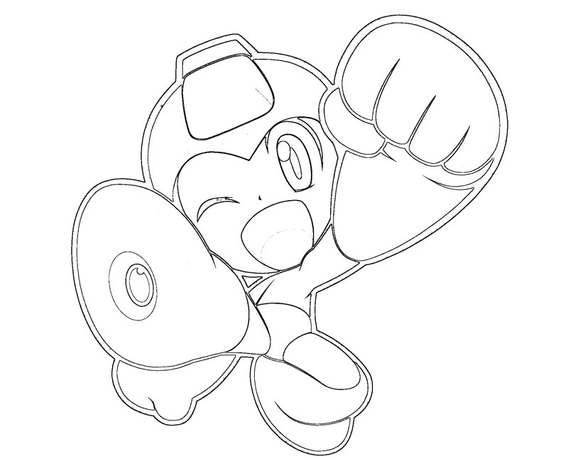 mega man coloring pages free - photo#18