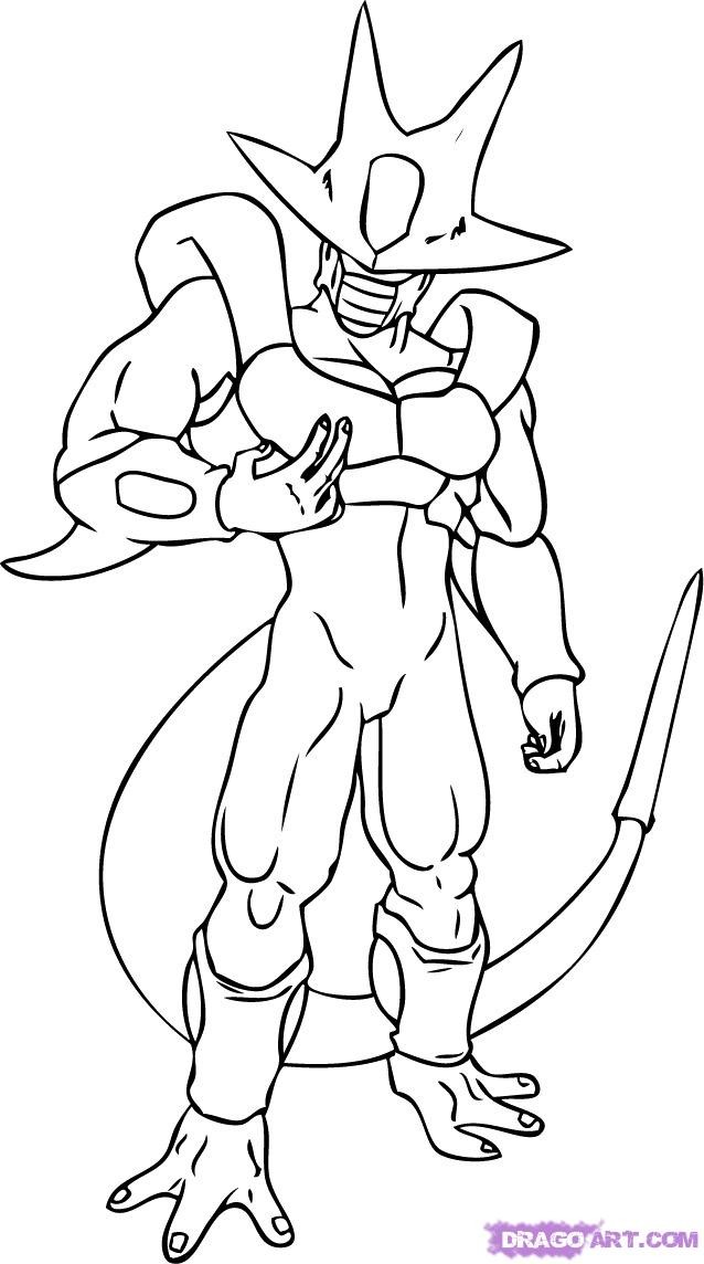 coloring pages of dragonball gt - photo#16