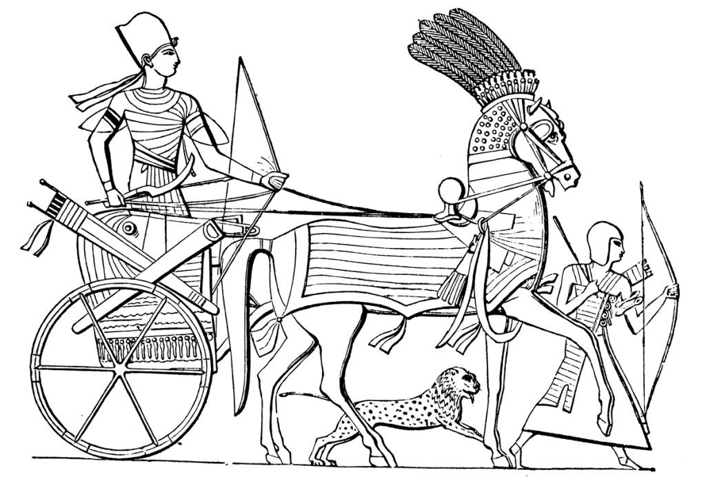 egypt free coloring pages - photo#8