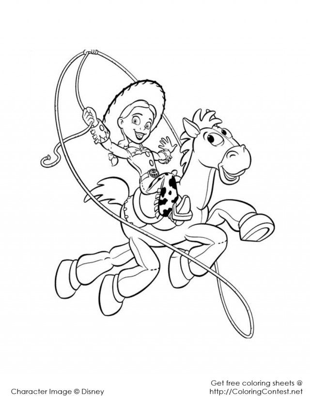 jessie coloring pages ziry - photo#7