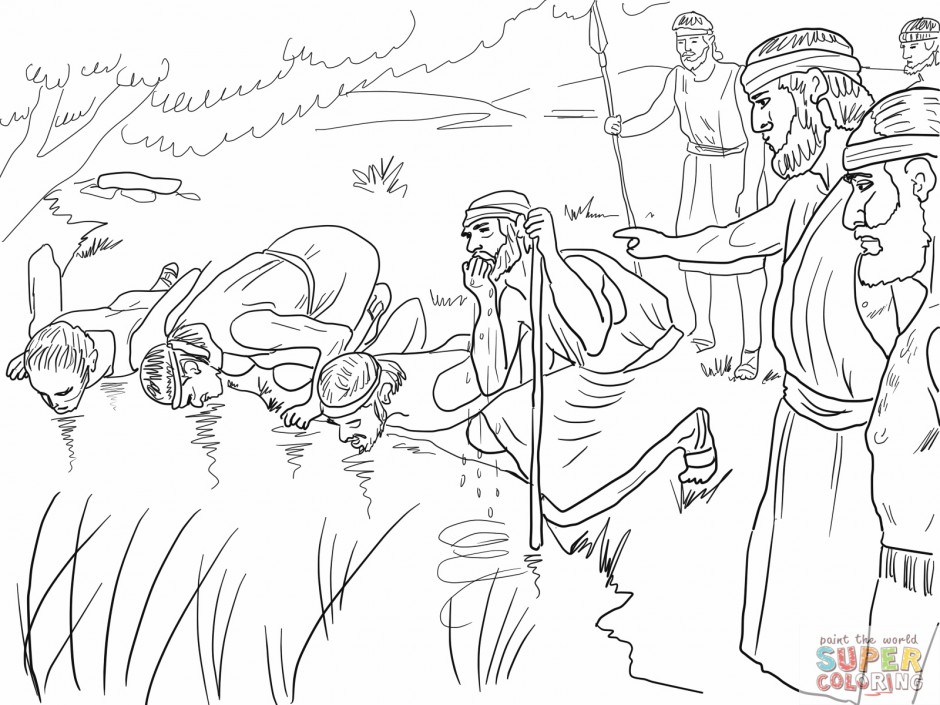 Gideon Coloring Pages Www 186993 Gideon Coloring Pages