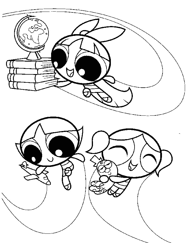 Printable Powerpuff Girls Coloring Pages Az Coloring Pages Powerpuff Z Coloring Pages Free