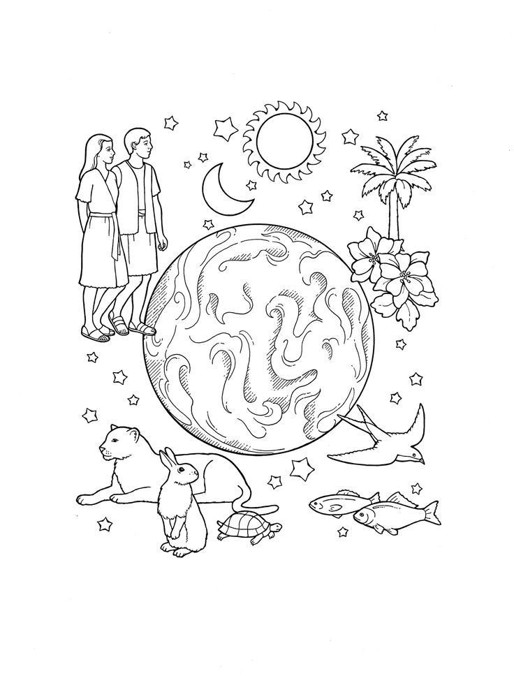 Lds Nursery Coloring Pages Coloring