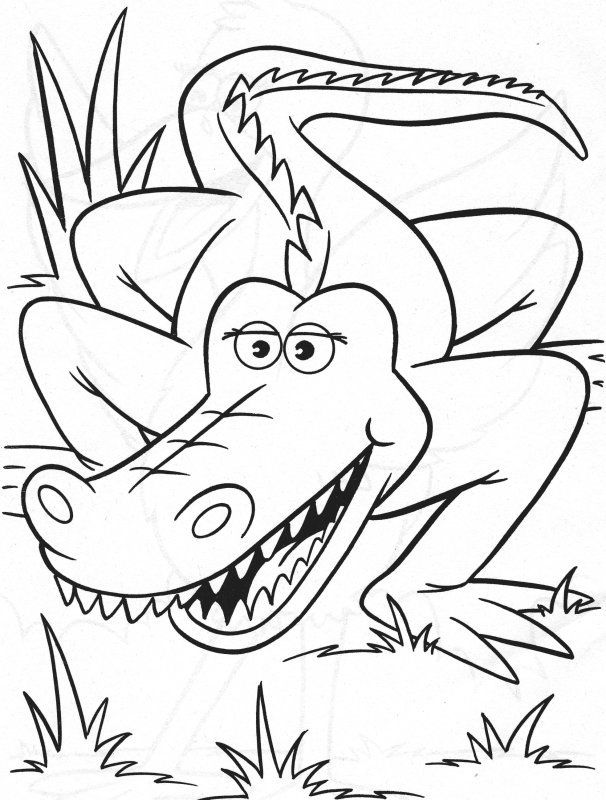 printable alligator pictures - coloring home - Alligator Coloring Pages Printable