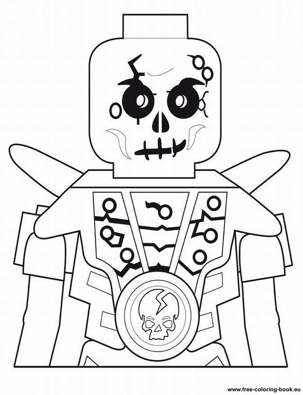 Free Coloring Pages LEGO Skull Color Printing Sonic Coloring - Coloring  Home