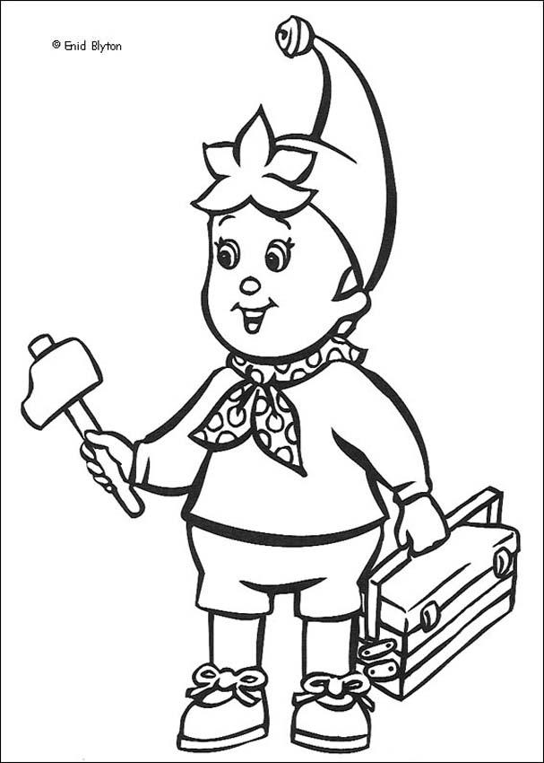 NODDY Coloring Pages - Noddy 16 - Coloring Home