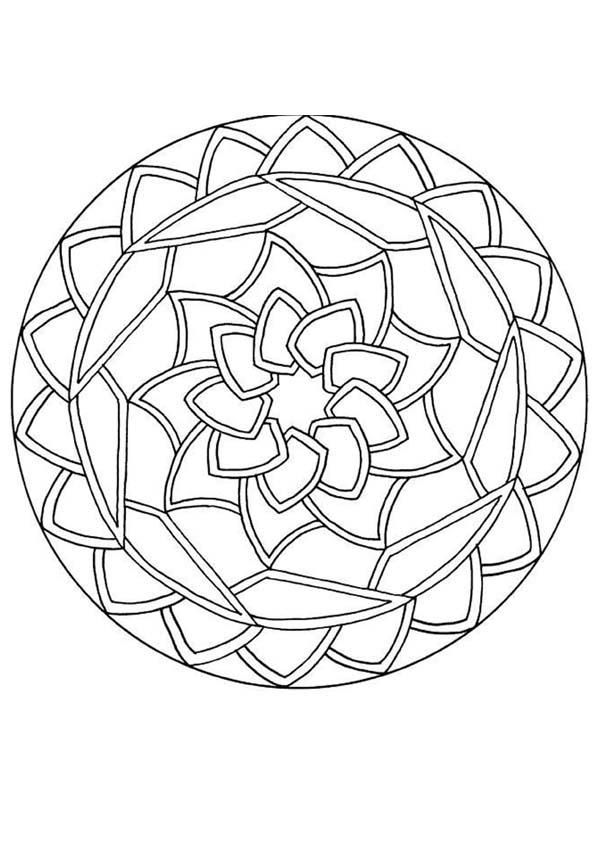 Mandala Coloring Media For The Adults : New Coloring Pages