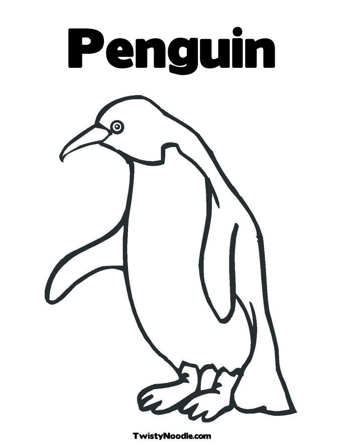 Penguin coloring page x coloring home for Penguin coloring pages pdf