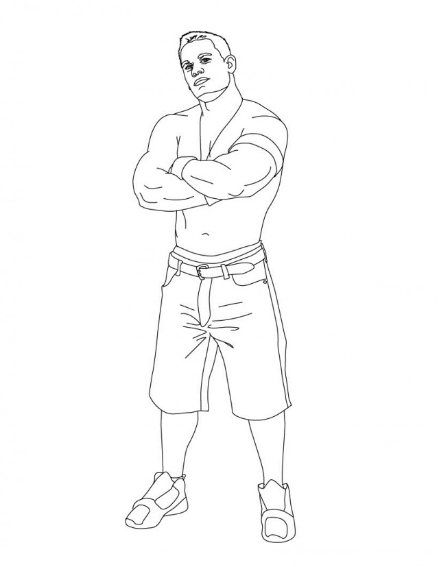 Wwe Wrestling Coloring Pages Coloring Pages Amp Pictures IMAGIXS ...