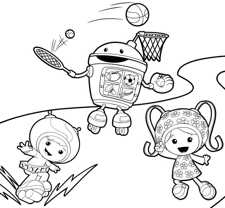 Nick Jr Free Coloring Pages - Coloring Home