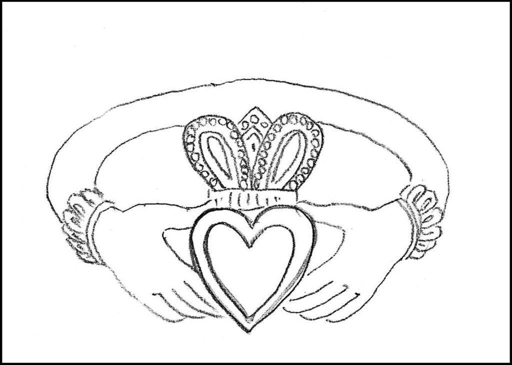 irish symbols coloring pages - photo#31