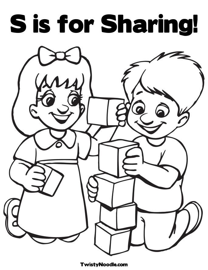 citizenship coloring pages - photo#12