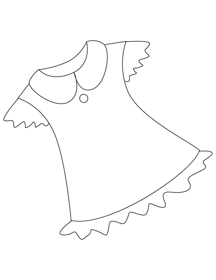 shirt coloring pages - photo#32