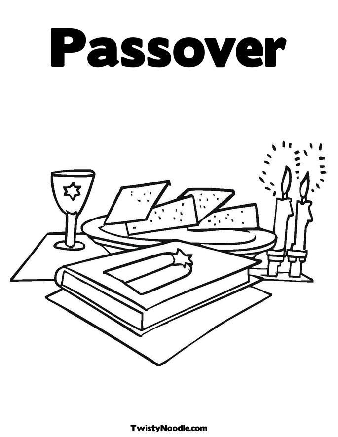 Passover Coloring Page For Kids - Coloring Home