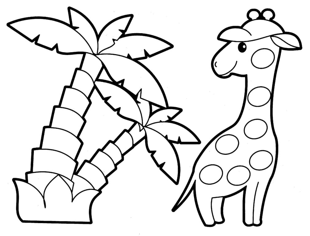 Pictures Of Jungle Animals AZ Coloring Pages