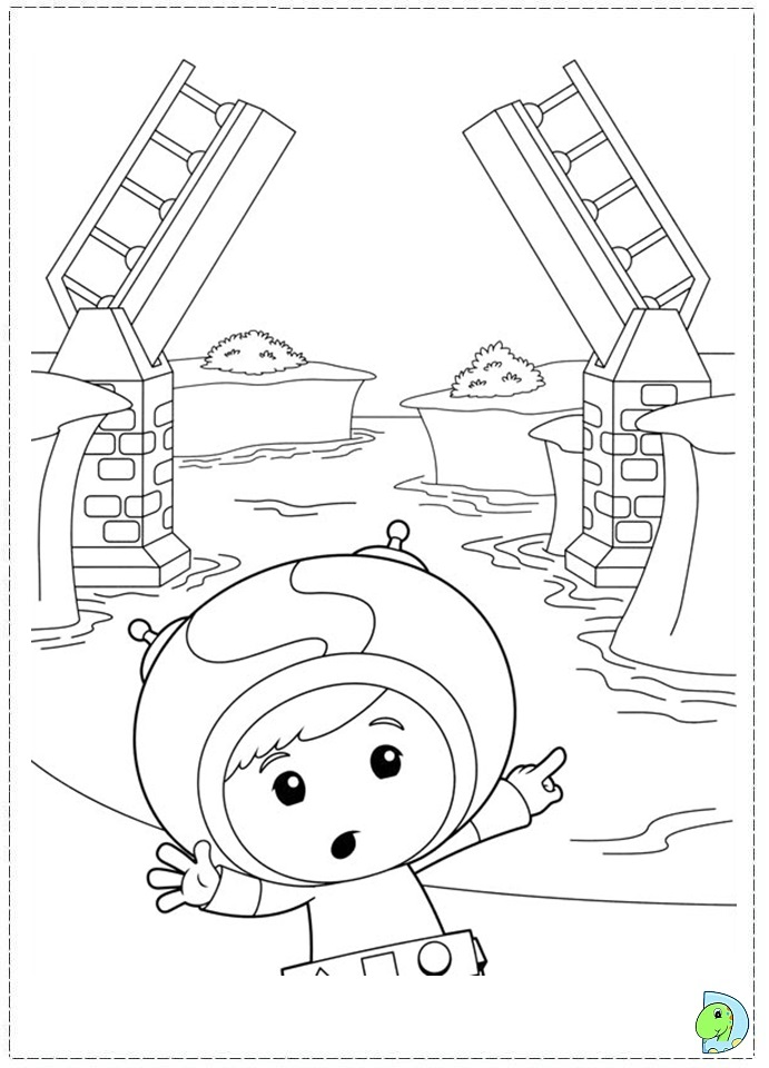 Umizoomi az coloring pages for Umizoomi coloring pages