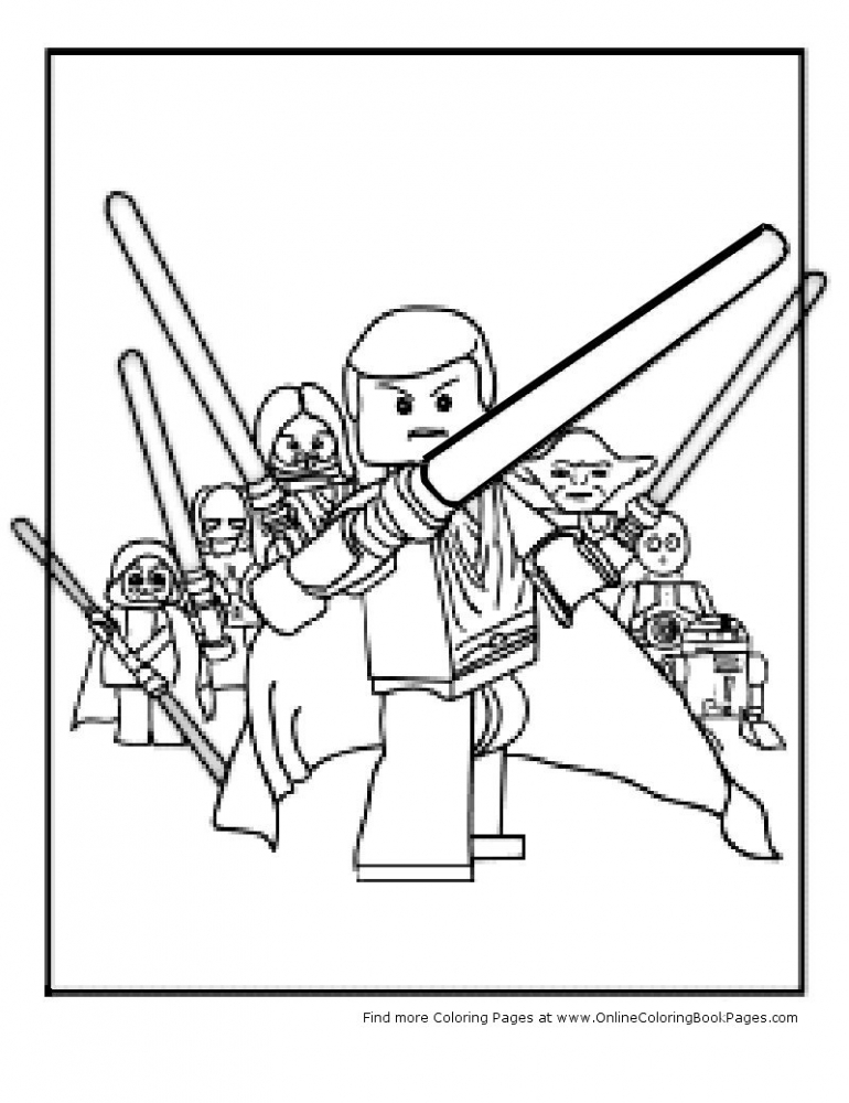 Star Wars Cartoon Characters Az Coloring Pages Wars Coloring Pages