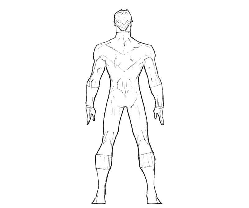 Disclaimer Law Nightwing Coloring Pages 800 X 667 38 Kb Jpeg