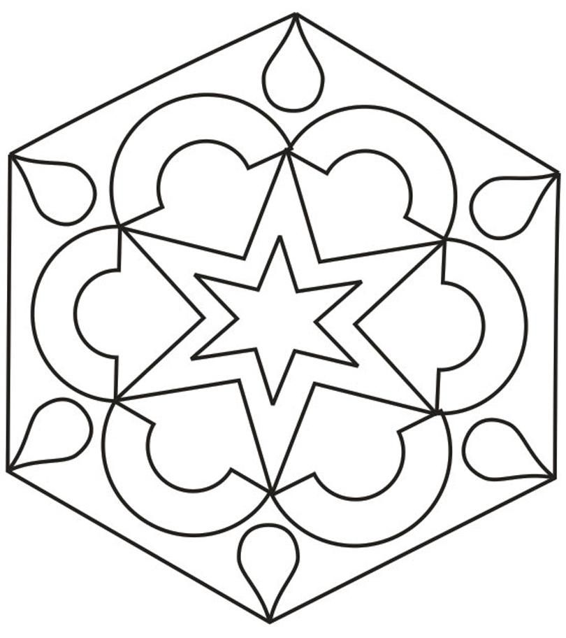 Rangoli Coloring Pages | Coloring Pages
