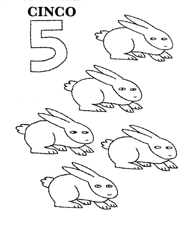 Coloring Pages Numbers 1 20