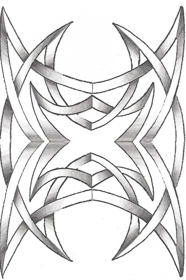 Free tribal coloring pages joy studio design gallery for Tribal pattern coloring pages