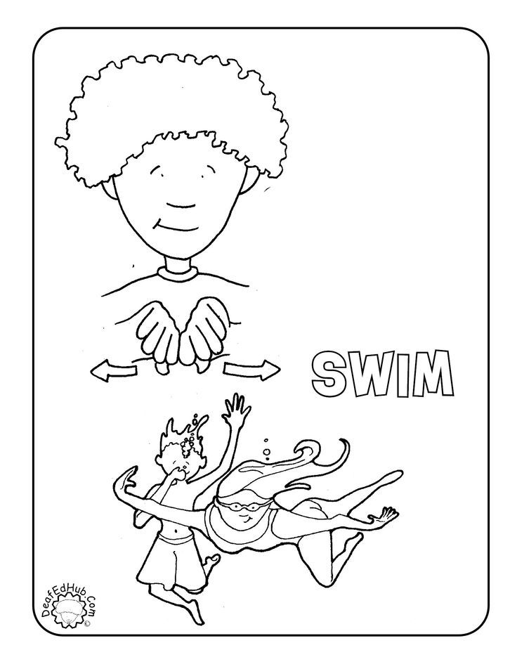 l asl coloring pages - photo #8