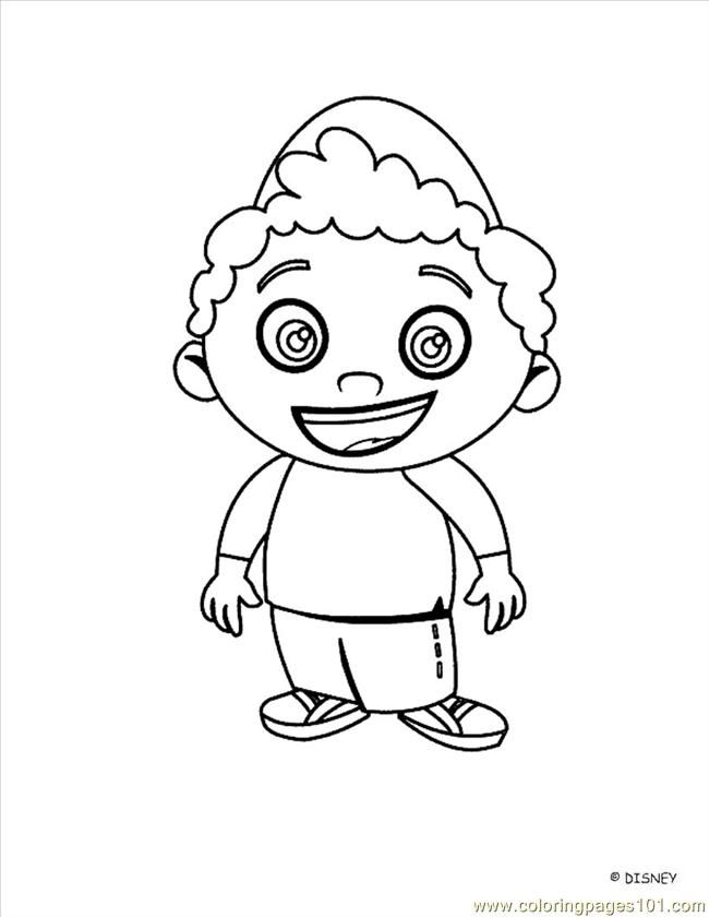 Coloring Pages Little Einstein 13 Cartoons Gt Little Einsteins Coloring Pages
