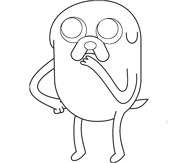 adventure time characters coloring pages - photo#24