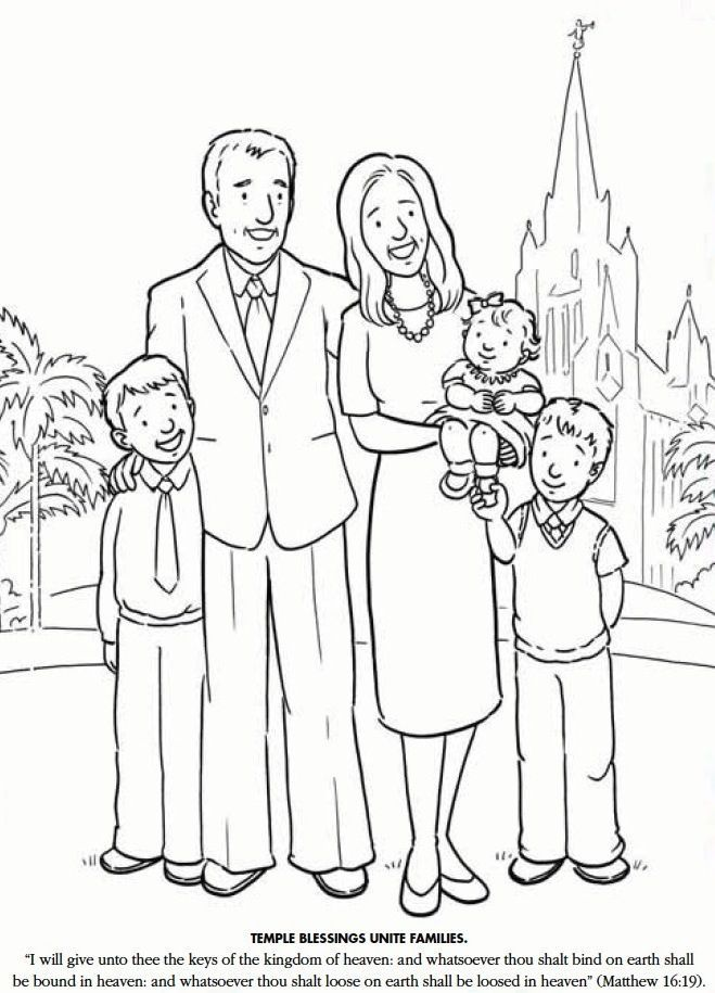 Lds Coloring Page - Coloring Home