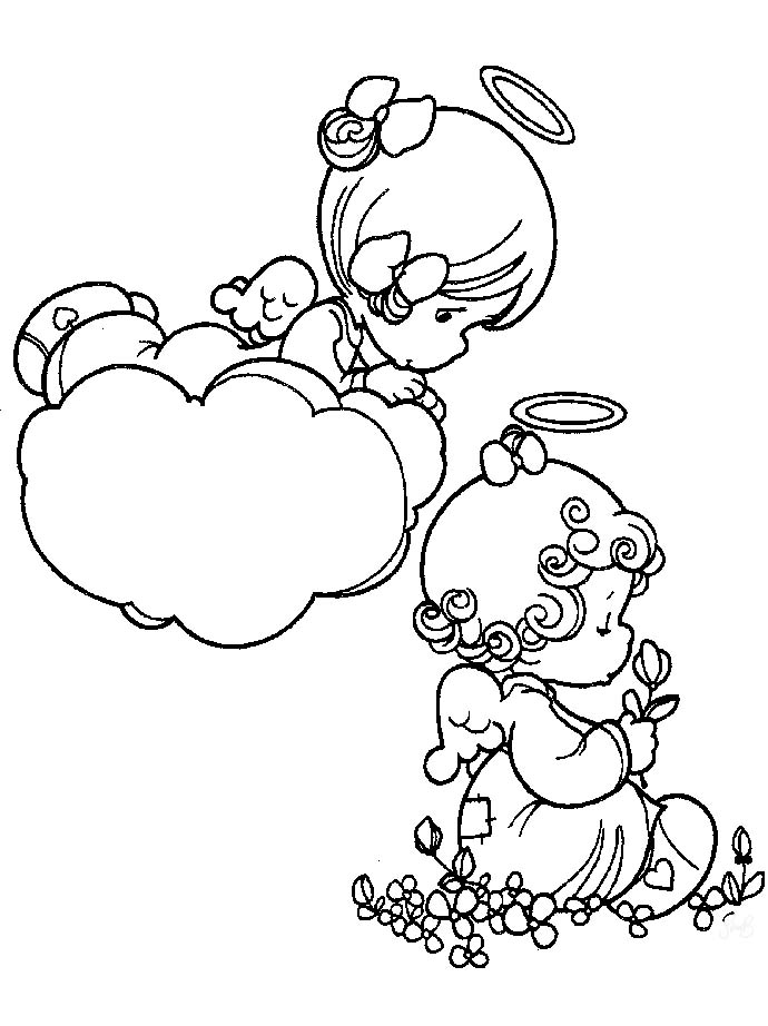 precious moments angel coloring pages precious moments angels imagui
