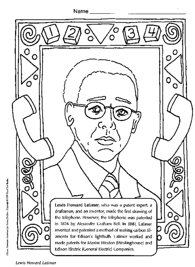 Free Printable Black History Coloring Pages AZ Coloring Pages