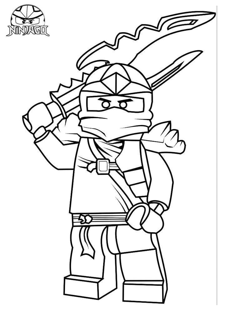 Coloring Pages Of Lego Ninjago Coloring Home
