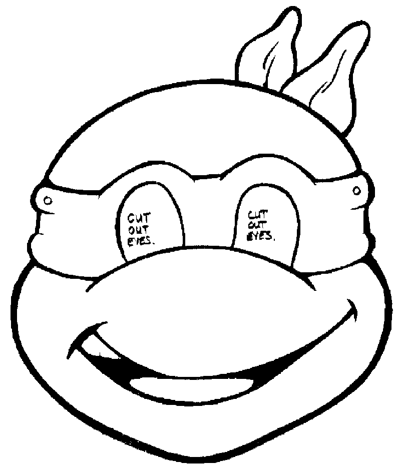 Coloring Pages Baby Ninja Turtles : Ninja Turtle Color AZ Coloring Pages