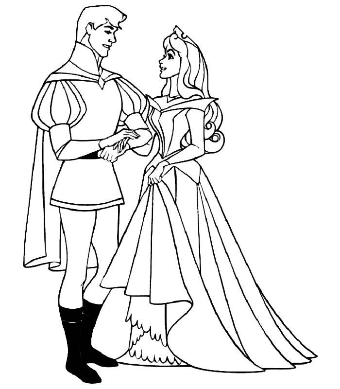 Disney Princess Coloring Pages Sleeping Beauty Coloring Home