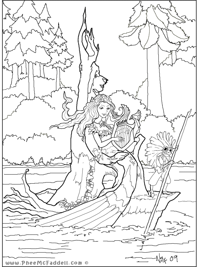 phee mcfaddell coloring pages - photo#19