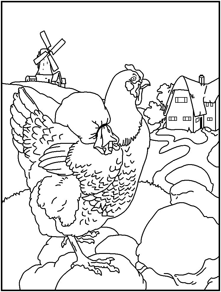 mothergoose coloring pages - photo#30