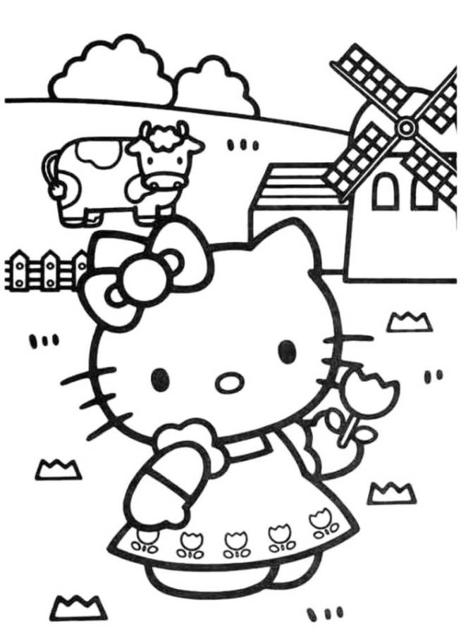 Hello Kitty Templates