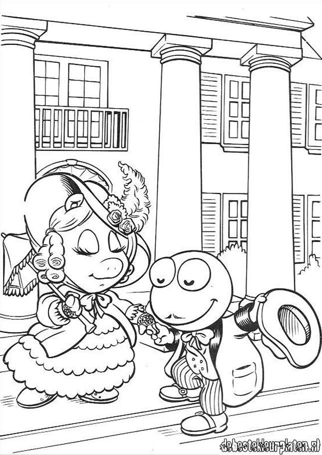 miss piggy coloring pages muppets - photo#14