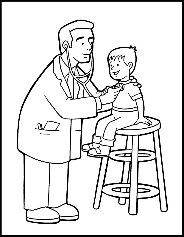 coloring pages community helper - photo#7