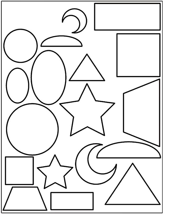 Cut Out Shapes For Kids Az Coloring Pages Cut Out Coloring Pages