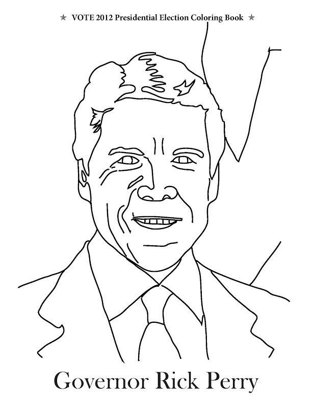 coloring pages vote - photo#33