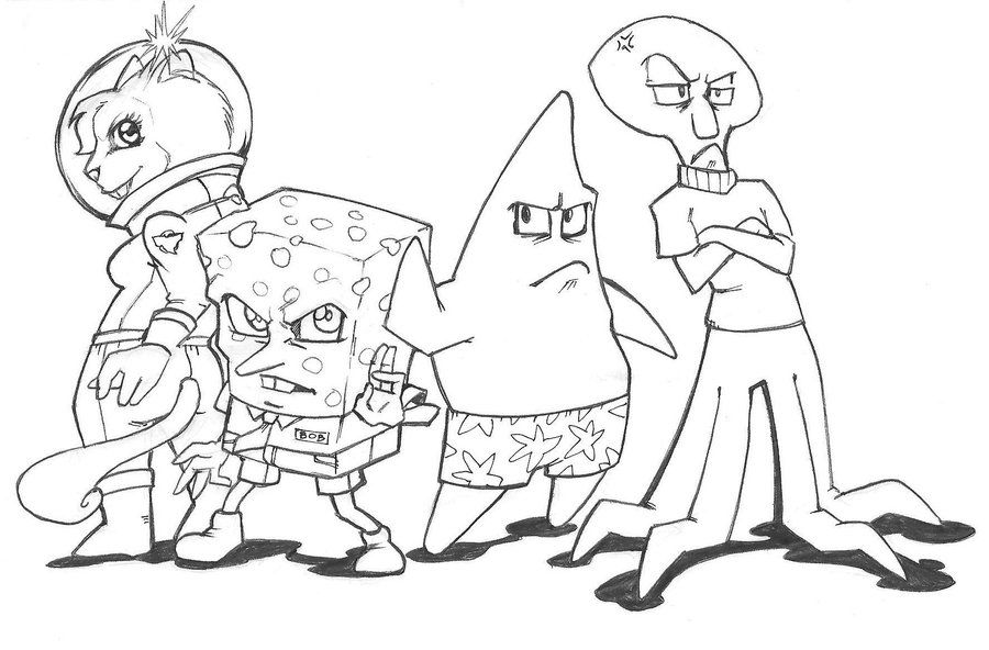 Spongebob Squarepants Drawings Step By Step SpongeBob SquarePants Yaoi by